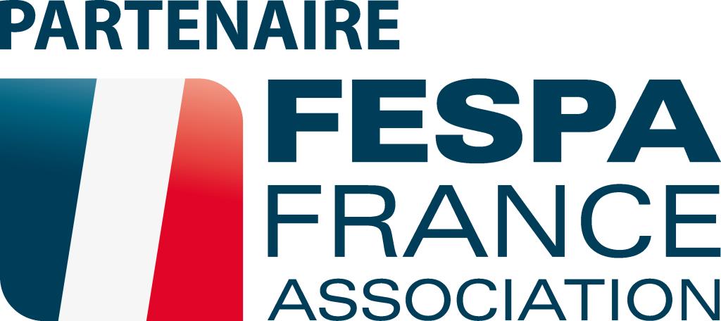 FESPA France partenaire Bleu sans fond
