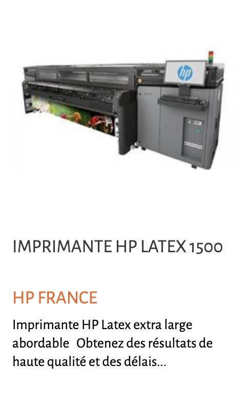 Image hp 1500