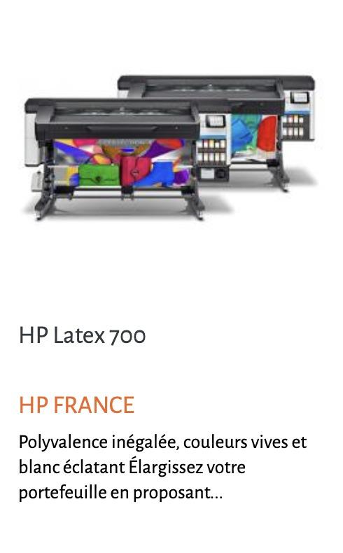 Image hp 700
