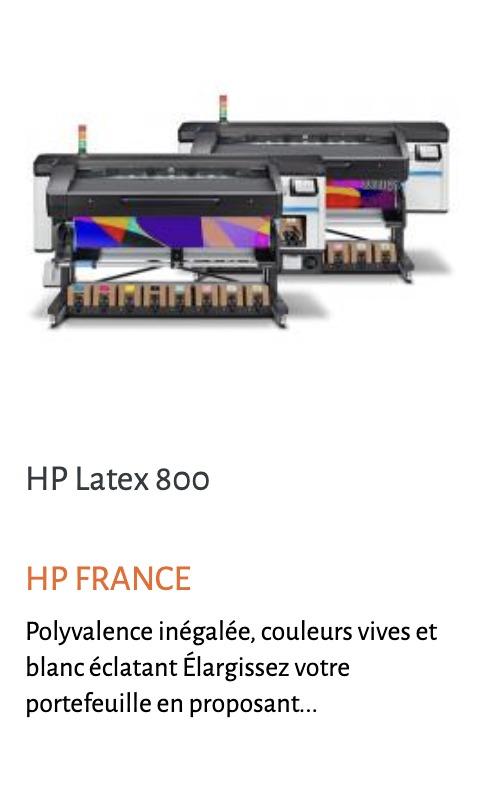 Image hp 800