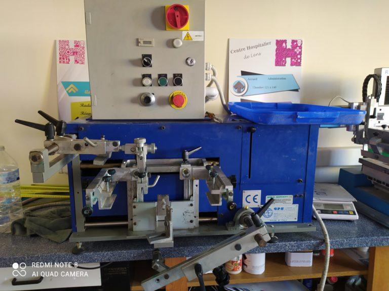 Machine serigraphie donation