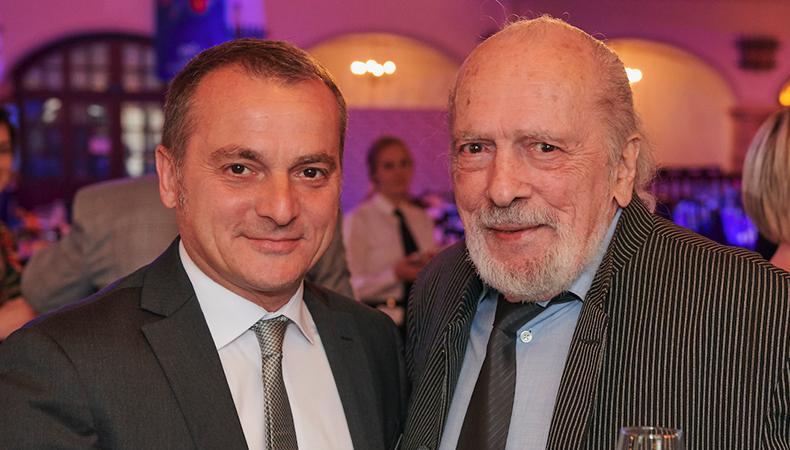 Photo chrisotphe aussenac et michel caza fondateur fespa
